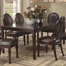 cherry finish traditional dining table w optional items