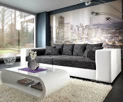 schwarz weiß wohnzimmer ideen kühles deko schwarz weiss wohnzimmer moderne dekoration