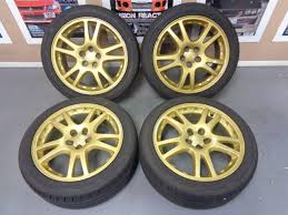 subaru legacy oem wheels subaru impreza gdb sti oem gold 17