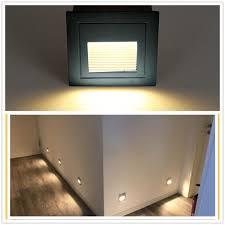 Wohnzimmer Lampe Ebay Berlin 4 X 2w Warmweiß 230v Led Wandeinbauleuchte Stufenleuchte
