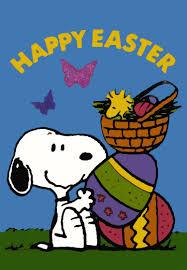 Vintage Flag Art Non Vintage Flag Happy Easter Snoopn4pnuts Com