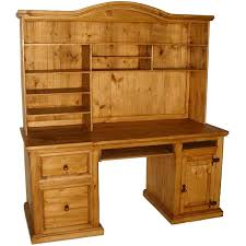Pine Desk With Hutch Rustic Desk Wood Executive Desk Pine Desk