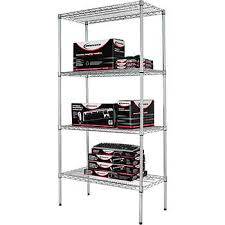 Wire Shelving Desk Wire Shelving