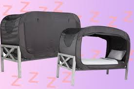 Bed Tents For Twin Size Bed by Pop Up Privacy Bed Tent Is The Bed Fort Of Your Dreams
