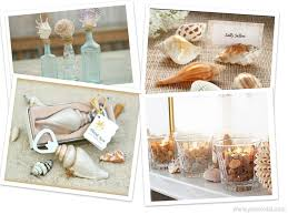 seashell decorating ideas weddings are fun blog shell themed