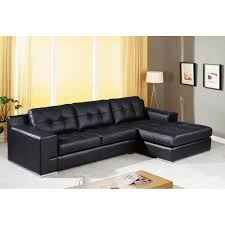 Small Brown Sofa Long Black Leather Couch Ultra Modern Leather