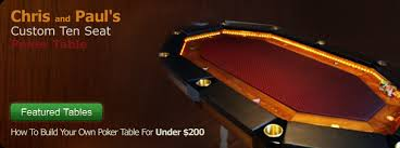 how to build a poker table how to build a poker table free poker table plans