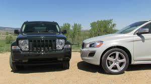 volvo jeep 2012 jeep liberty vs volvo xc60 r design mashup review youtube