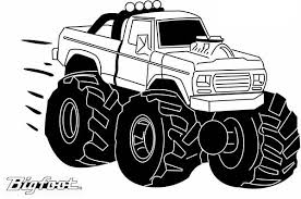 monster truck coloring pages mohawk warrior monster truck coloring