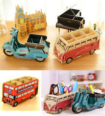 cool pen holders 1pc new cool multifunction wood diy pen holder pens stand pencil