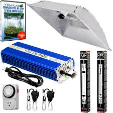 grow lights double ended yield lab pro series 1000w hps mh xxl hood double ended complete