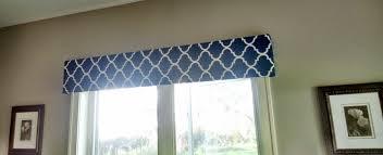 Wood Valance Window Treatments Cornice Window Treatments