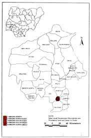Nigeria State Map by Gated Neighbourhoods And Privatisation Of Urban Security In Ibadan