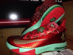christmas kd 6 nike kd 6 christmas sole collector