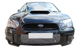 blob eye subaru subaru blob eye front grille set with full span lower grille