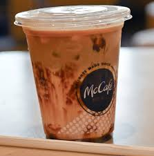 Coffee Mcd welcome the kiosk will take your order the garden island