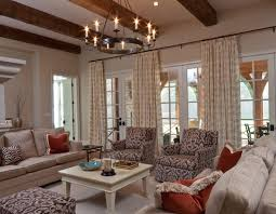 Chandeliers For Living Room Vintage Chandelier Puts Crowning Touch On Soothing Living Room