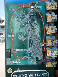 Map Key West Jet Ski