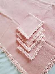 what size tablecloth for card table vintage pink card table size tablecloth 44 x 48 1970 s ebay