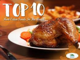 top 10 cuisines in the top 10 most eaten foods in the