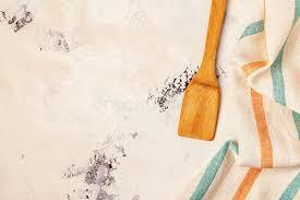 les fonds de cuisine fond de cuisine avec la serviette et les outils de cuisson image