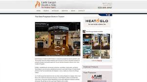 Southern Hearth And Patio Web Design Four Star Advertising