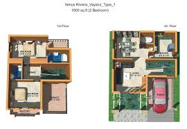 2 Bhk House Plan 2 Bedroom Duplex House Plans India Duplex House Plan And