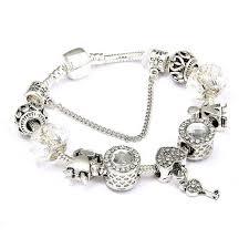 vintage heart bracelet images Vintage heart and key charm bracelet diyosworld jpg