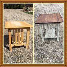 Rustoleum For Metal Patio Furniture - waverly chalk paint in truffle and cashew rustoleum stain in kona
