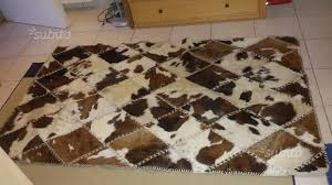 tappeti pelle di mucca tappeto pelle di mucca originale arredamento e casalinghi in