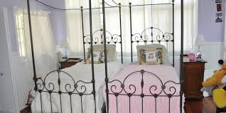 Ideas For Antique Iron Beds Design Cathouse Antique Iron Beds Vintage Bed With Regard To Matching