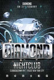 diamond club free flyer template http freepsdflyer com diamond