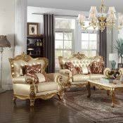Meridian Furniture 295 C Lorenzo Coffee Table In Gold Bennito 276 Coffee Table In Golden Tone W Options By Meridian
