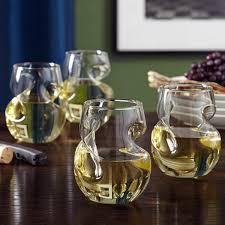 unique shaped wine glasses cool unique wine glasses