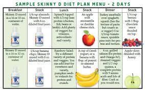 skinny d the 5 step weight loss plan