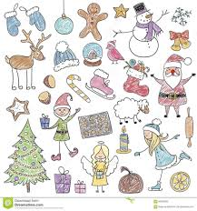 christmas drawings for children drawing sketch library