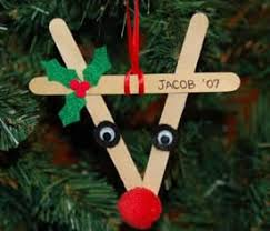 craft ideas to make reindeer ornaments from