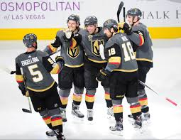 golden knights get 5 2 win against winnipeg at t mobile arena