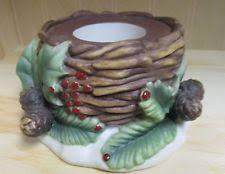 pine cone tea light holder partylite christmas winter tea light holders accessories ebay