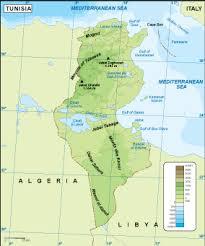 tunisia physical map tunisia physical map eps illustrator map digital maps netmaps