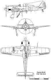Blueprints Free by Focke Wulf Fw 190 Blueprint Download Free Blueprint For 3d Modeling