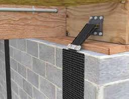 Basement Foundation Repair Methods by Basement Wall Reinforcement Carbonarmor And Armorlock Can