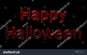 happy halloween blood font style stock illustration 218541070