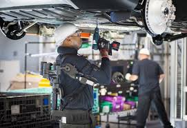bmw factory bmw group harnesses the potential of exoskeleton technology