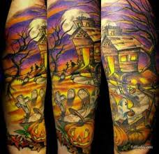 halloween tattoos and designs page 40