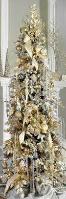 remarkableilver and gold tree ornaments