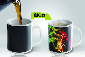 amazon com heat sensitive mug color changing coffee mug funny