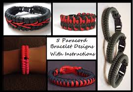 paracord bracelet designs images 5 paracord bracelet designs with instructions the prepared page png