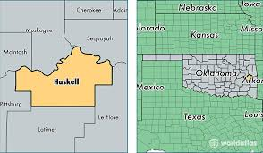 haskell map haskell county oklahoma map of haskell county ok where is