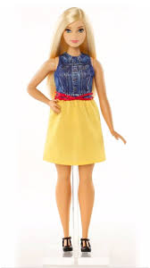 barbie fashionistas doll 22 chambray chic curvy dmf24 barbie